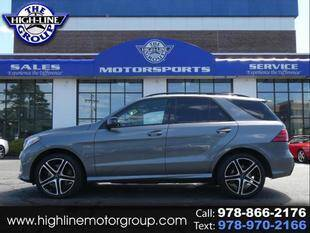 2017 Mercedes-Benz GLE for sale at Highline Group Motorsports in Lowell MA