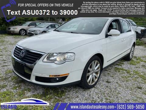 2010 Volkswagen Passat for sale at Island Auto Sales in East Patchogue NY