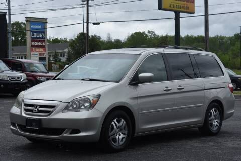 2006 Honda Odyssey for sale at Broadway Garage of Columbia County Inc. in Hudson NY