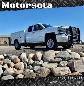 2015 Chevrolet Silverado 3500HD for sale at Motorsota in Becker MN