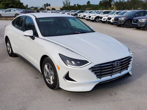 2021 Hyundai Sonata for sale at DORAL HYUNDAI in Doral FL