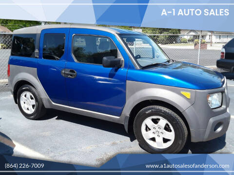 2004 Honda Element for sale at A-1 Auto Sales in Anderson SC