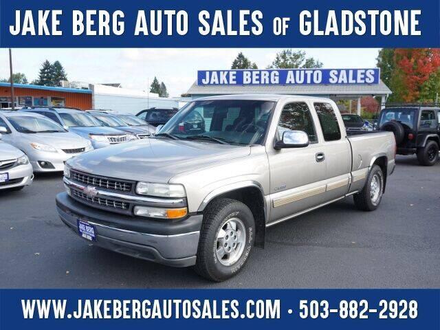 2002 Chevrolet Silverado 1500 for sale at Jake Berg Auto Sales in Gladstone OR