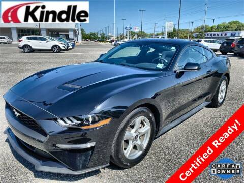 2018 Ford Mustang for sale at Kindle Auto Plaza in Middle Township NJ