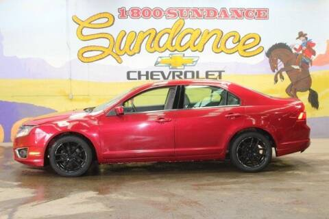 2011 Ford Fusion for sale at Sundance Chevrolet in Grand Ledge MI