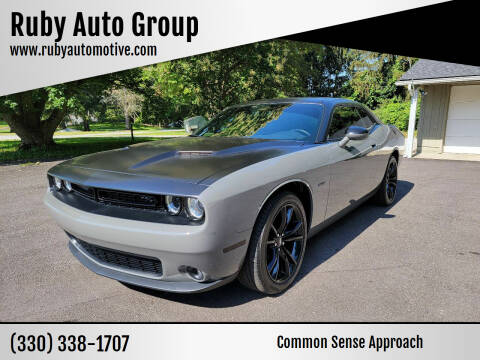 2018 Dodge Challenger for sale at Ruby Auto Group in Hudson OH