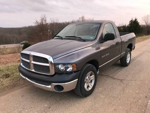 2003 Dodge Ram Pickup 1500 for sale at BARKLAGE MOTOR SALES in Eldon MO