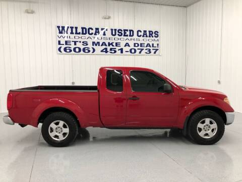 2006 Nissan Frontier for sale at Wildcat Used Cars in Somerset KY
