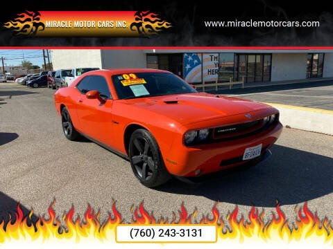 2009 Dodge Challenger for sale at Miracle Motor Cars Inc. in Victorville CA