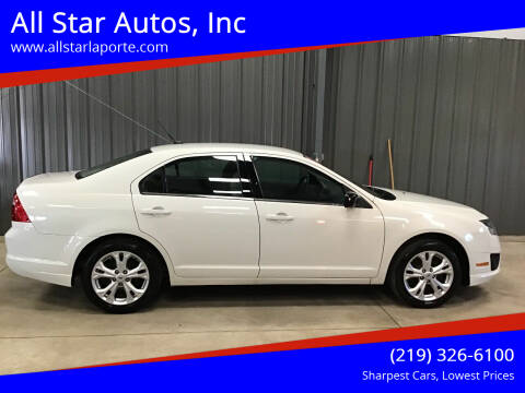 2012 Ford Fusion for sale at All Star Autos, Inc in La Porte IN