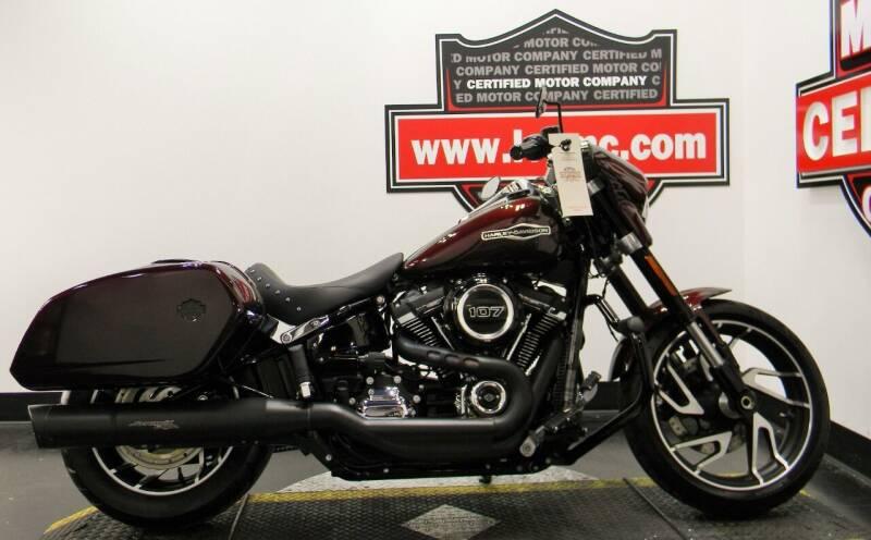 2018 Harley-Davidson SPORT GLIDE for sale at Certified Motor Company in Las Vegas NV