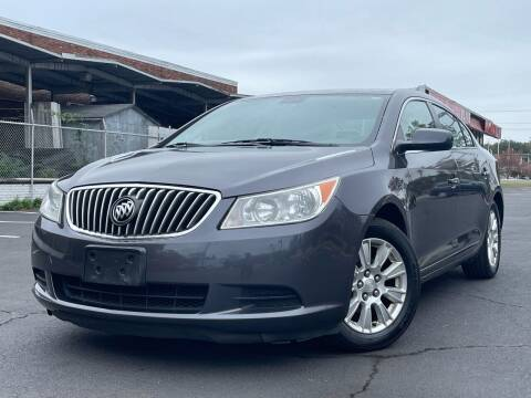 2013 Buick LaCrosse for sale at MAGIC AUTO SALES in Little Ferry NJ