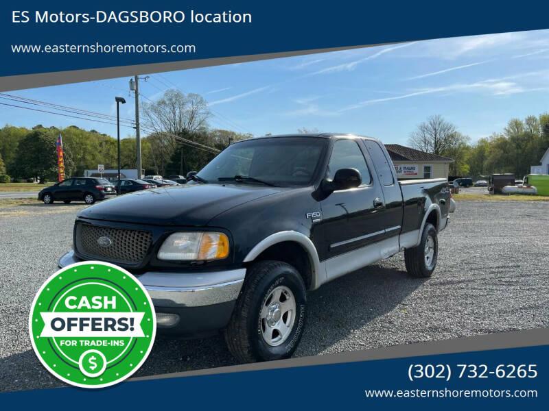 2001 Ford F-150 for sale at ES Motors-DAGSBORO location in Dagsboro DE