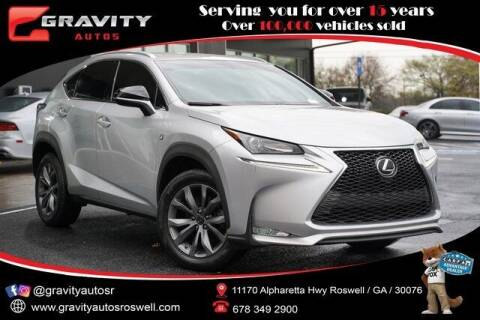 2016 Lexus NX 200t for sale at Gravity Autos Roswell in Roswell GA