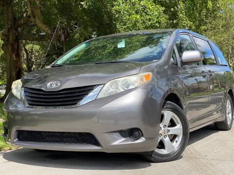 2012 Toyota Sienna for sale at HIGH PERFORMANCE MOTORS in Hollywood FL