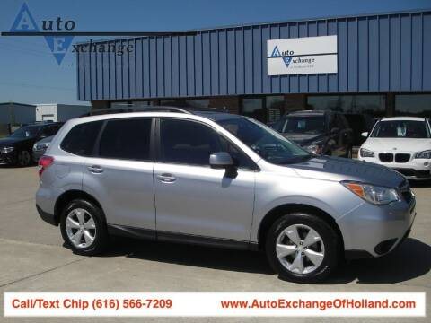 2015 Subaru Forester for sale at Auto Exchange Of Holland in Holland MI