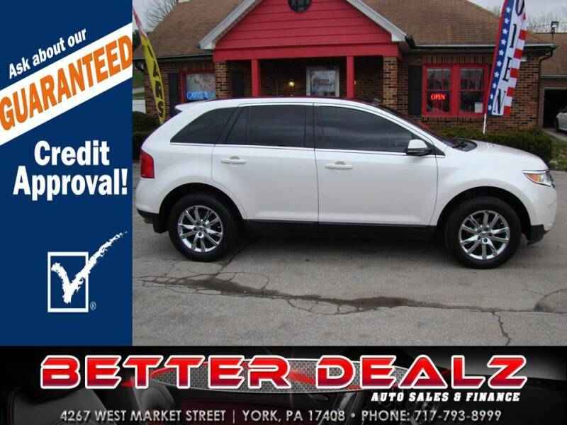 2014 Ford Edge for sale at Better Dealz Auto Sales & Finance in York PA