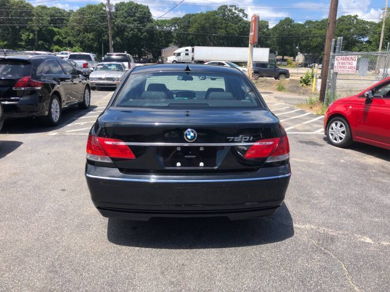 2006 BMW 7 Series 750i 4dr Sedan - Warwick RI