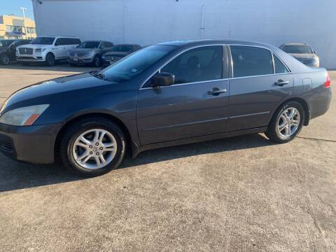 2007 Honda Accord for sale at FAIR DEAL AUTO SALES INC in Houston TX