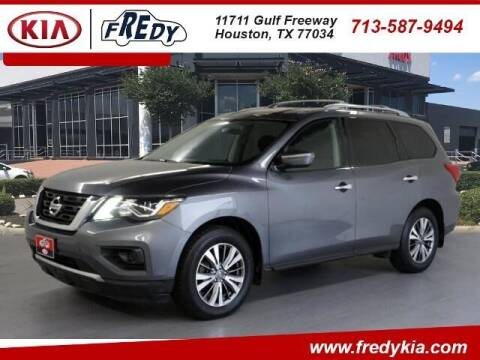 2018 Nissan Pathfinder for sale at FREDY KIA USED CARS in Houston TX