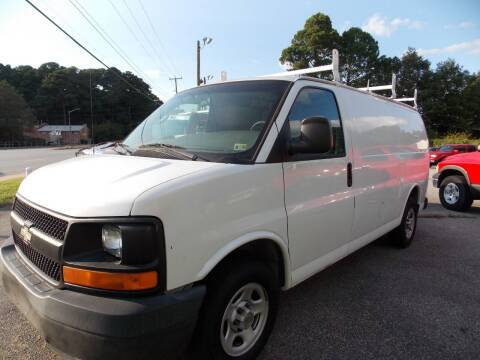 2004 Chevrolet Express Cargo for sale at Deer Park Auto Sales Corp in Newport News VA