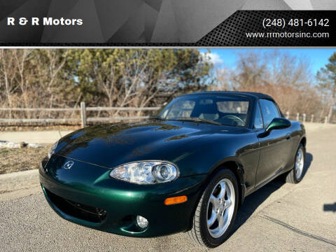 2001 Mazda MX-5 Miata for sale at R & R Motors in Waterford MI