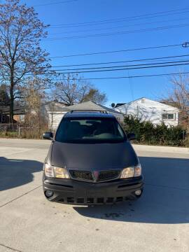 2003 Pontiac Montana for sale at Suburban Auto Sales LLC in Madison Heights MI