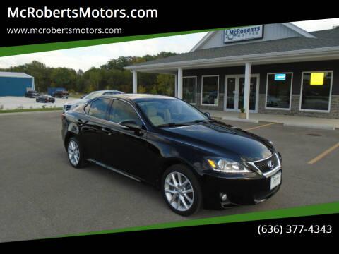 2013 Lexus IS 250 for sale at McRobertsMotors.com in Warrenton MO