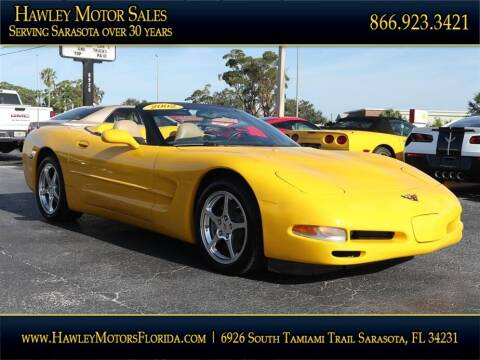 2002 Chevrolet Corvette for sale at Hawley Motor Sales in Sarasota FL