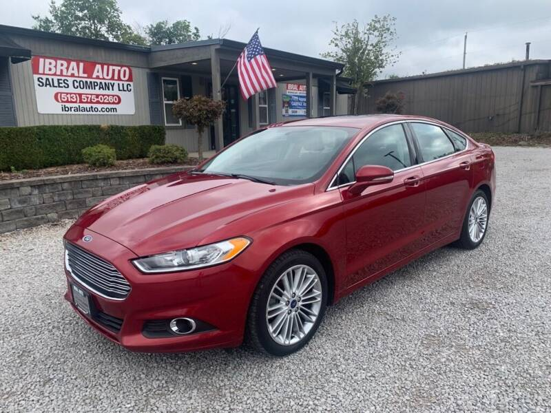 2016 Ford Fusion for sale at Ibral Auto in Milford OH