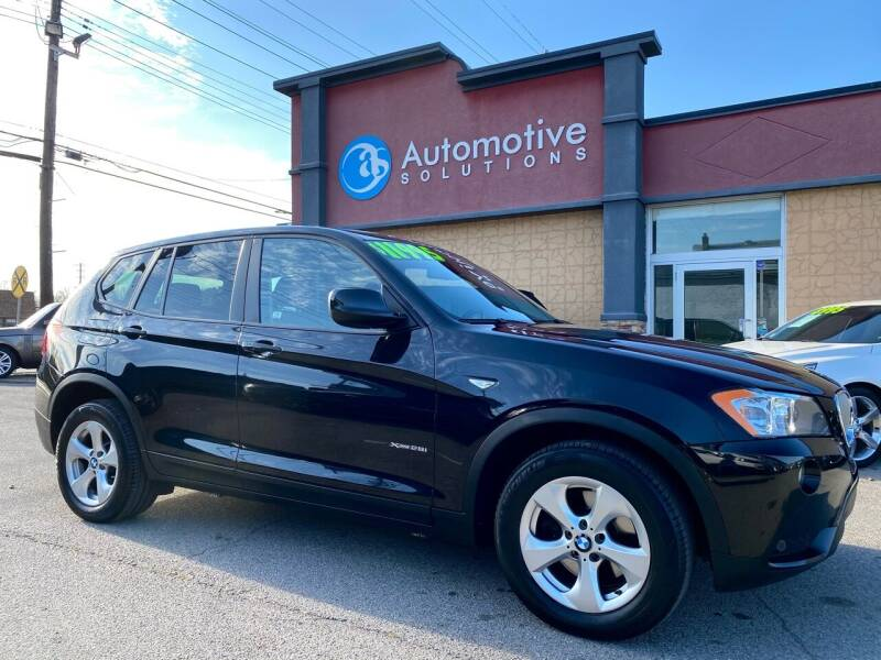 2012 BMW X3 for sale at Automotive Solutions in Louisville KY