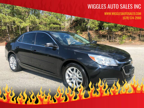 2014 Chevrolet Malibu for sale at WIGGLES AUTO SALES INC in Mableton GA