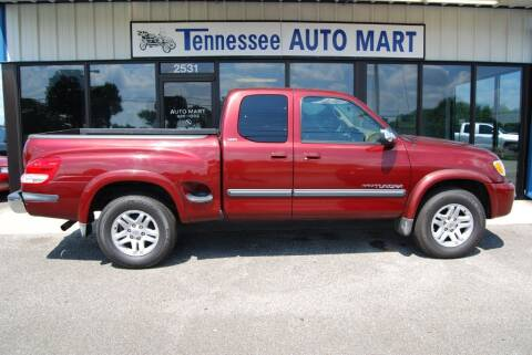 2003 Toyota Tundra for sale at Tennessee Auto Mart Columbia in Columbia TN