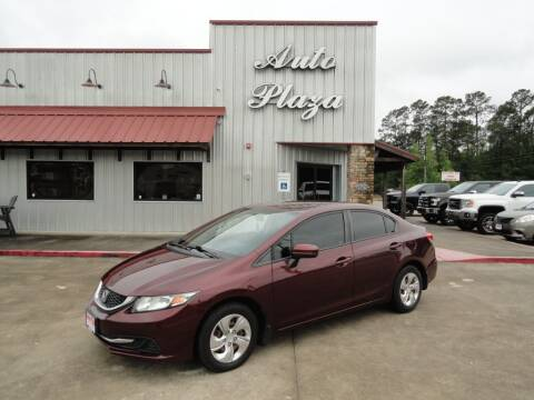 2014 Honda Civic for sale at Grantz Auto Plaza LLC in Lumberton TX