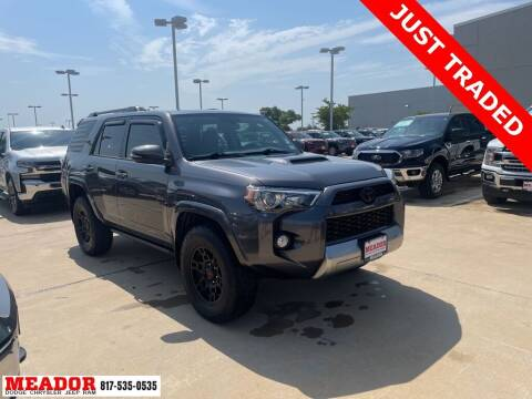 2019 Toyota 4Runner for sale at Meador Dodge Chrysler Jeep RAM in Fort Worth TX