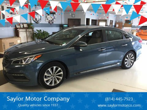2015 Hyundai Sonata for sale at Saylor Motor Company in Somerset PA