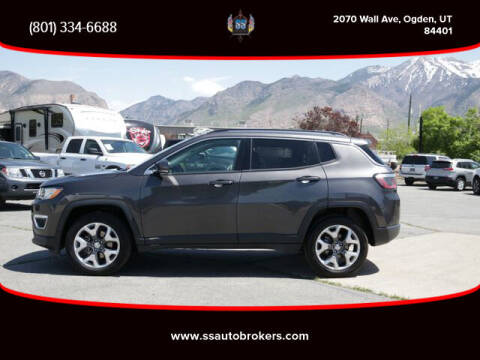 2020 Jeep Compass for sale at S S Auto Brokers in Ogden UT