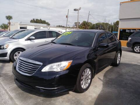 2011 Chrysler 200 for sale at QUALITY AUTO SALES OF FLORIDA in New Port Richey FL