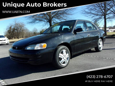 2000 Toyota Corolla for sale at Unique Auto Brokers in Kingsport TN
