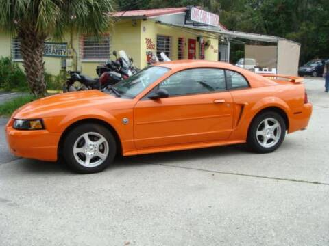 2004 Ford Mustang for sale at VANS CARS AND TRUCKS in Brooksville FL