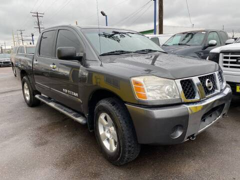 2006 Nissan Titan for sale at New Wave Auto Brokers & Sales in Denver CO