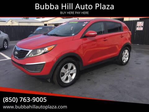 2013 Kia Sportage for sale at Bubba Hill Auto Plaza in Panama City FL