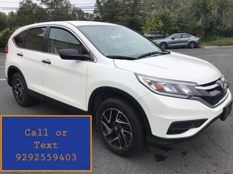 2016 Honda CR-V for sale at Ultimate Motors in Port Monmouth NJ