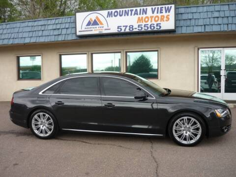 2011 Audi A8 L for sale at Mountain View Motors Inc in Colorado Springs CO