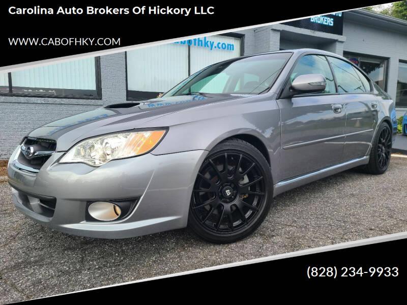 2009 Subaru Legacy for sale at Carolina Auto Brokers of Hickory LLC in Newton NC