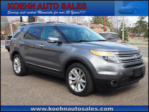 2014 Ford Explorer for sale at Koehn Auto Sales in Lindstrom MN