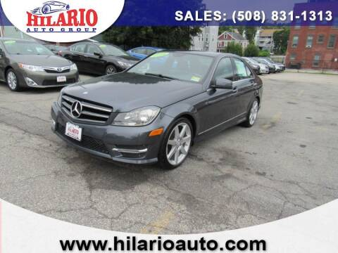 2014 Mercedes-Benz C-Class for sale at Hilario's Auto Sales in Worcester MA