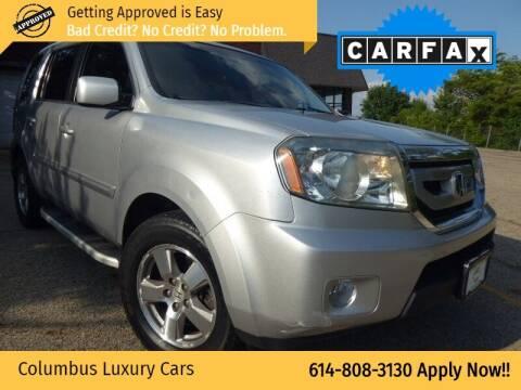 2011 Honda Pilot for sale at Columbus Luxury Cars in Columbus OH