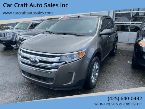 2014 Ford Edge for sale at Car Craft Auto Sales Inc in Lynnwood WA