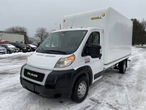 2019 RAM ProMaster Cutaway Chassis for sale at Williston Economy Motors in Williston VT